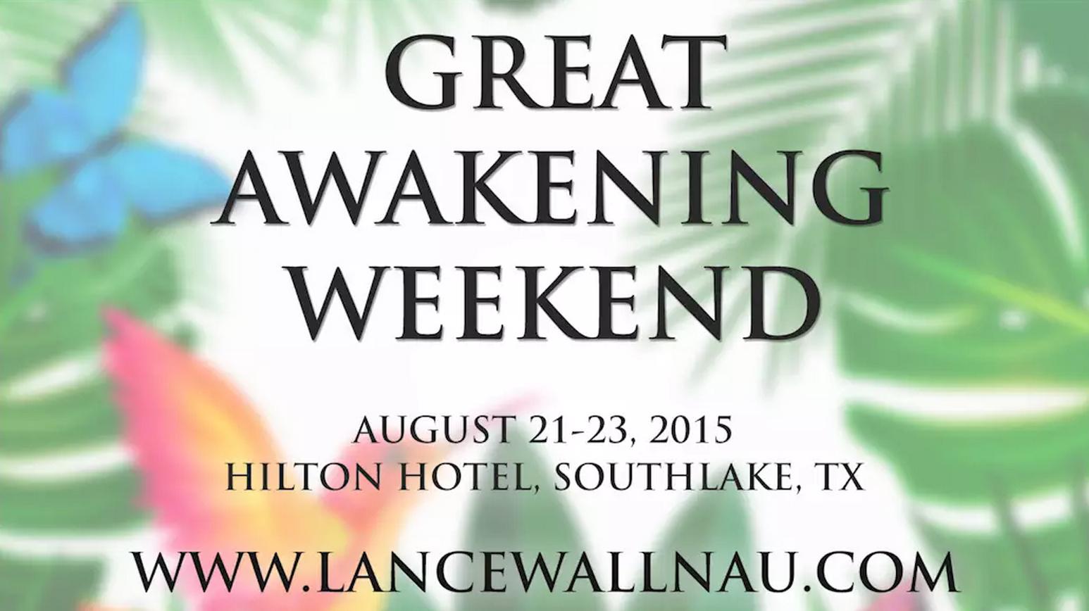 Great Awakening Weekend