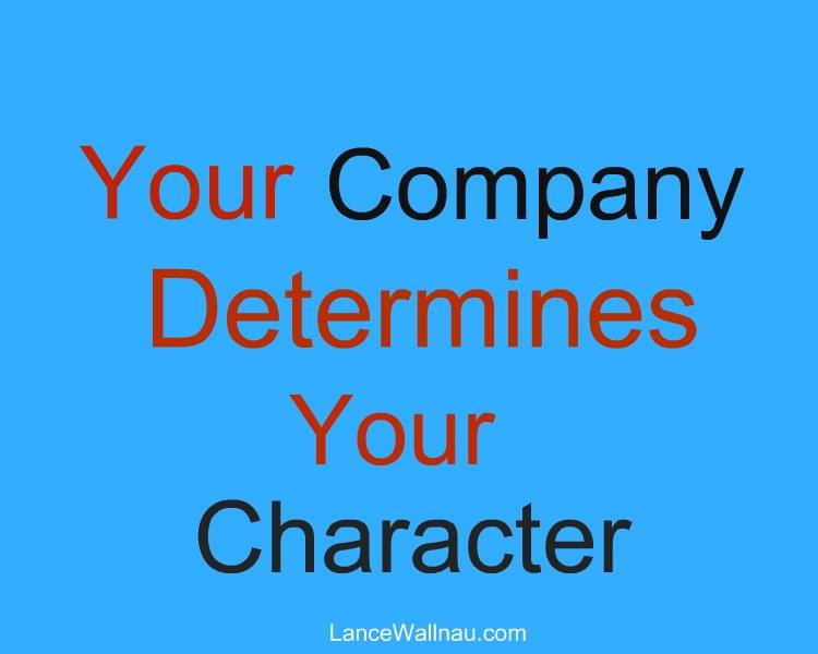 Watch Word On The Company You Keep Lance Wallnau