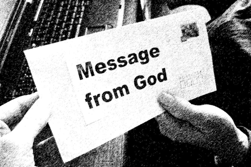message-from-god