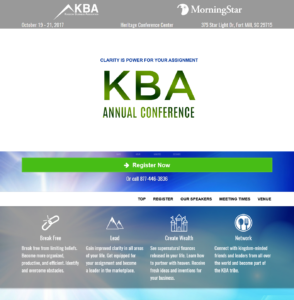 KBA Conference 2017