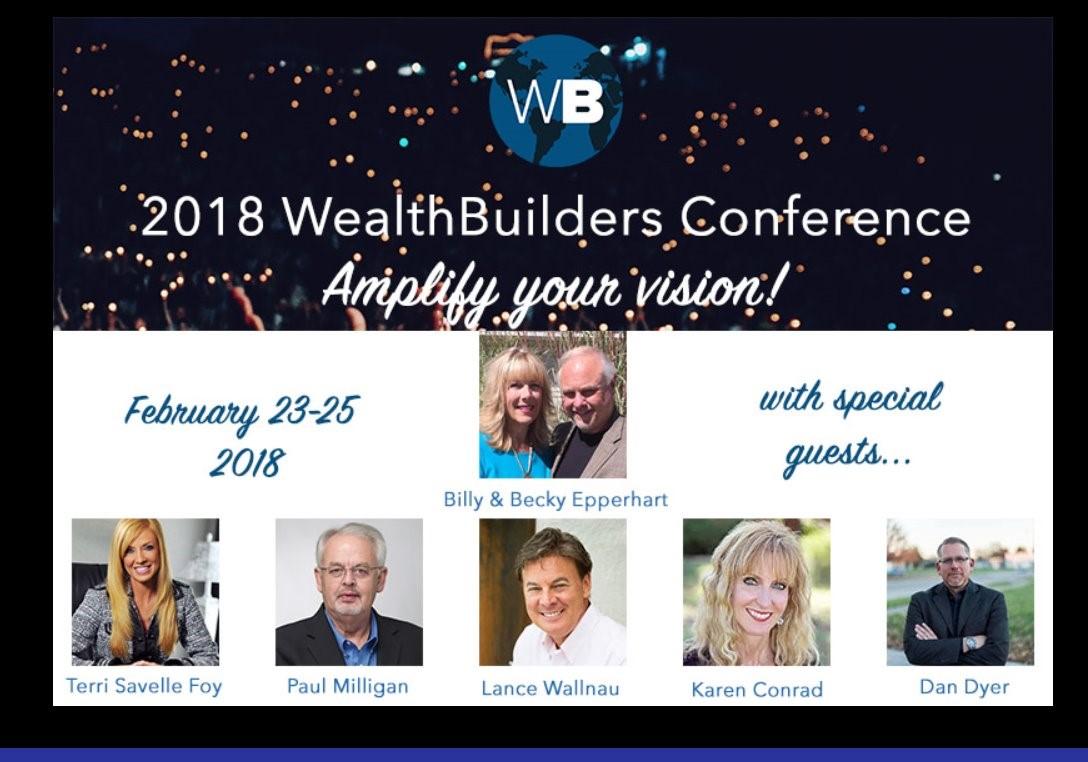 Wealthbuilders Conference Image